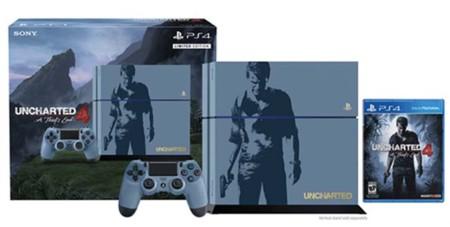 Uncharted 4 tendrá su propio PS4 en una edición limitada
