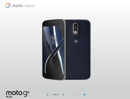 Moto G4 Plus Moto Maker Mexico