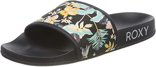 Roxy Slippy Sandal For Women, Sandalias deslizantes