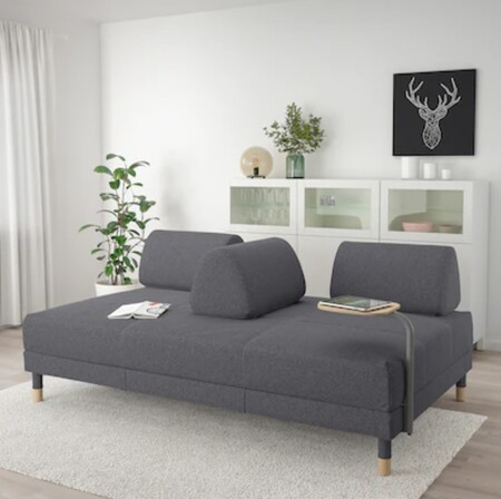 Sofa bed with table