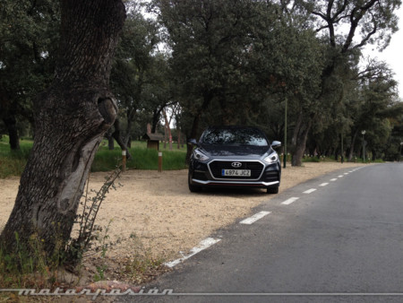 Hyundai I30 Turbo prueba - contacto