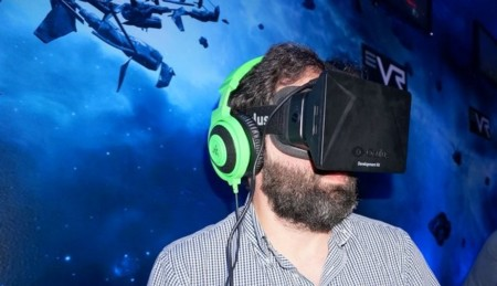Probando Oculus Rift