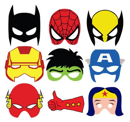 Disfraces Facil Barato Ninos Mascaras Superheroes