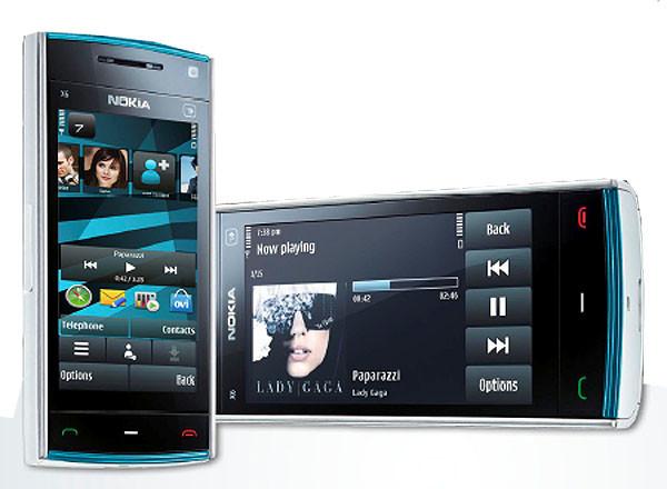 Con el Nokia X6 se recupera un móvil del pasado, pero que no se parece en nada al original de 2009