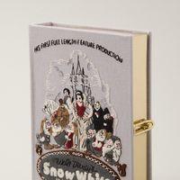 Clutch con forma de libro de Olympia Le Tan