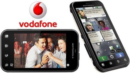Todos los precios del Motorola Defy con Vodafone
