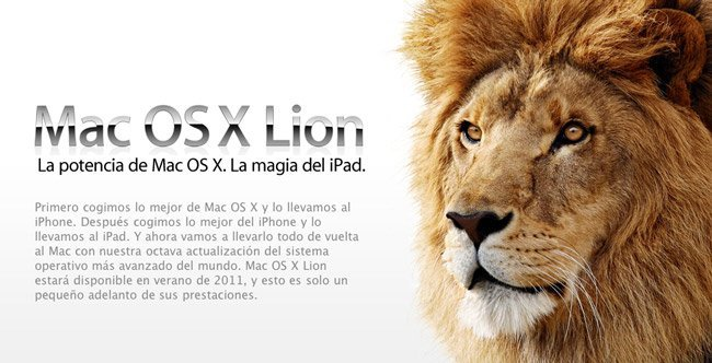 Mac OS 10.7 Lion
