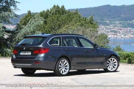 BMW 320d Touring trasera