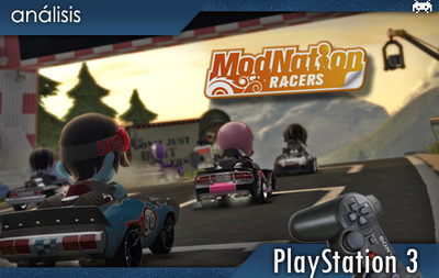 'ModNation Racers'. Primer contacto