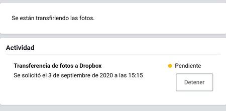 Fotos Dropbox Facebook