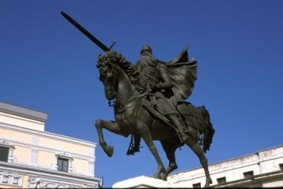 El Cid cabalga de nuevo, en la radio