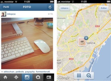 Instagram 3 llega con la posibilidad de ver las fotografías del servicio localizadas en un mapa