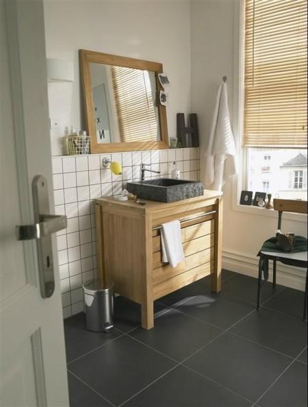 7 propuestas con estilo para elegir y acertar con los muebles de ba o - Mueble lavabo rustico ...