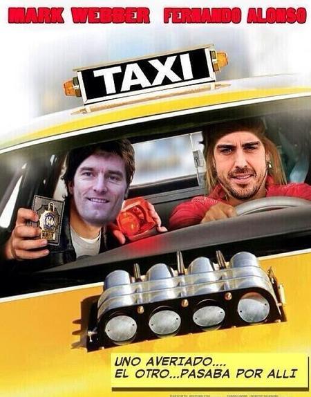 Sobre taxis y banderas
