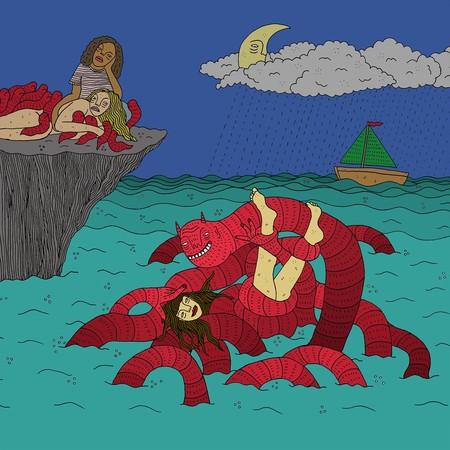 Las ilustraciones feministas de Polly Nor: cuando la metáfora utilizada es una triste realidad