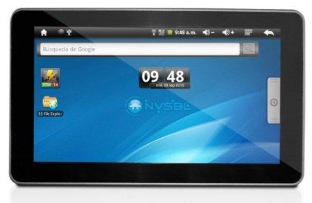 NVSBL ya tiene listo su tercer tablet con Android: P4D v3