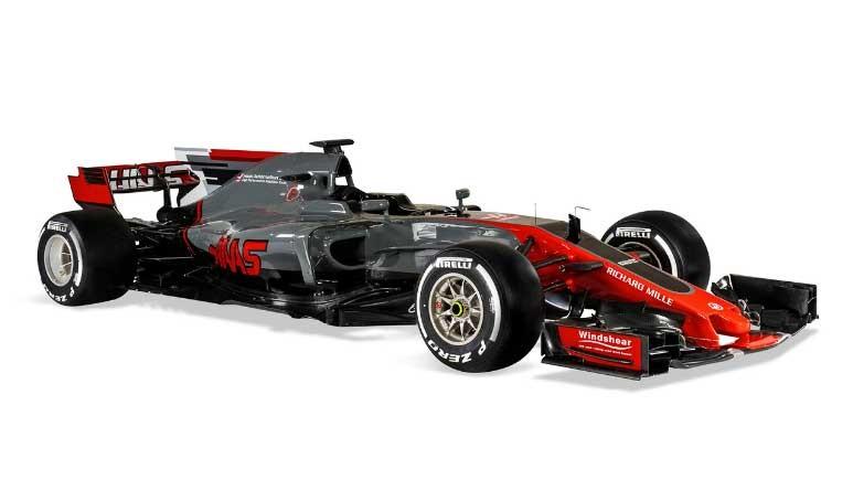 Foto de Haas-Ferrari VF-17 (4/4)