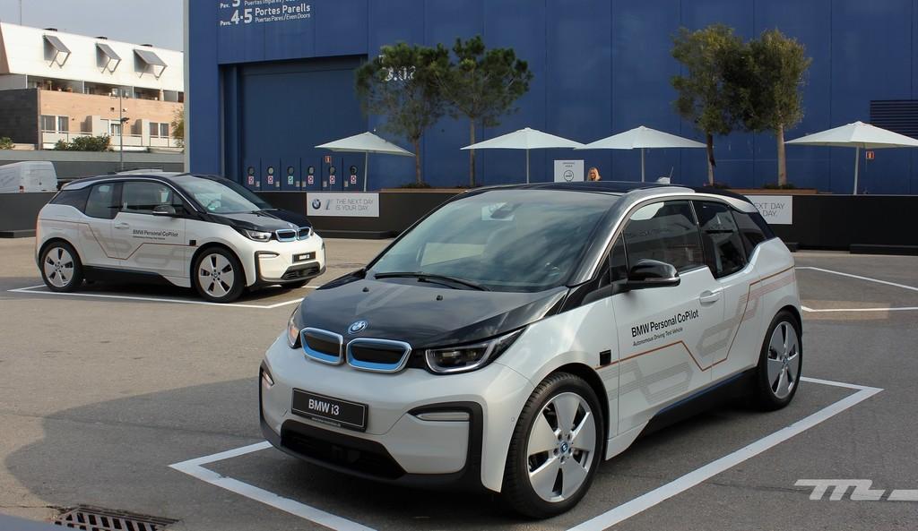 Mwc18 BMW i3 autónomo
