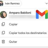 Gmail hace más fácil copiar y pegar direcciones de correo en los destinatarios de un correo