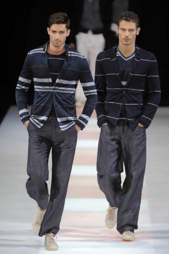 Giorgio Armani, Primavera-Verano 2010 en la Semana de la Moda de Milán