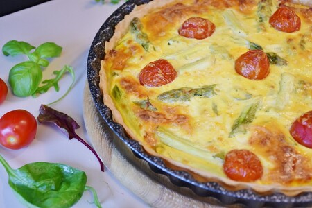 Pastel de verduras. Receta fácil y saludable