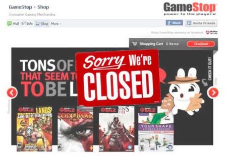 cierre de GameStop