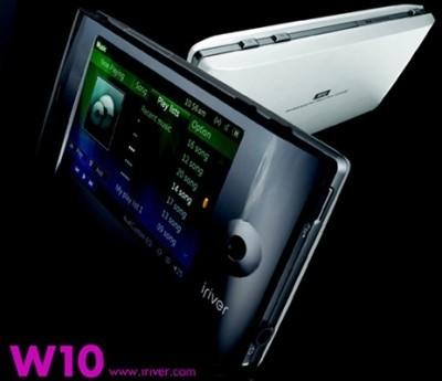 iRiver W10, con GPS y WiFi