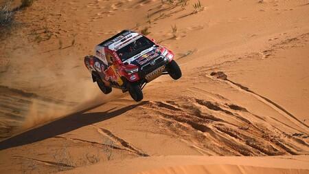 Stéphane Peterhansel sentencia su decimocuarto Dakar pese a la victoria de Nasser Al-Attiyah
