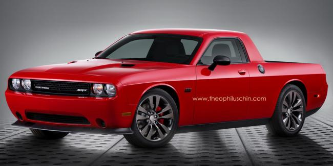 Dodge Challenger ¿pick-up?