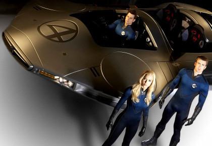 Revelado el 'Fantasticar' de la secuela de 'Los 4 Fantásticos'