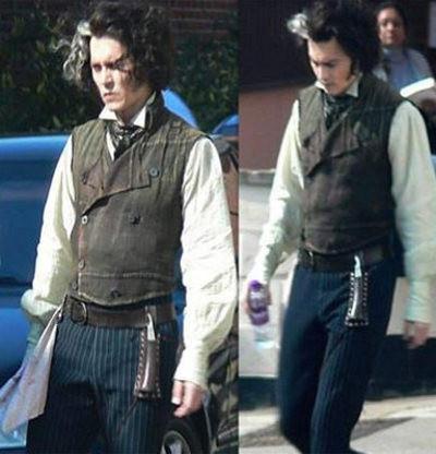 Primeras imágenes de Johnny Depp en 'Sweeney Todd'
