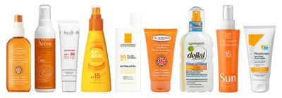 Protectores solares para todos los gustos y colores
