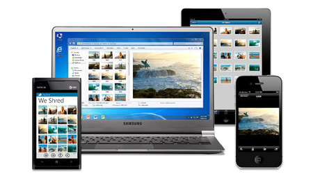 SkyDrive en diferentes dispositivos