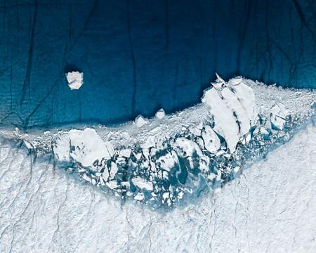 'Twoº': Fotografía aérea para denunciar las consecuencias del calentamiento global en el Ártico y su impacto en el planeta