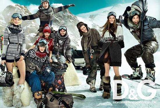 Foto de Campaña de D&G para el Otoño-Invierno 2010/2011 (1/4)