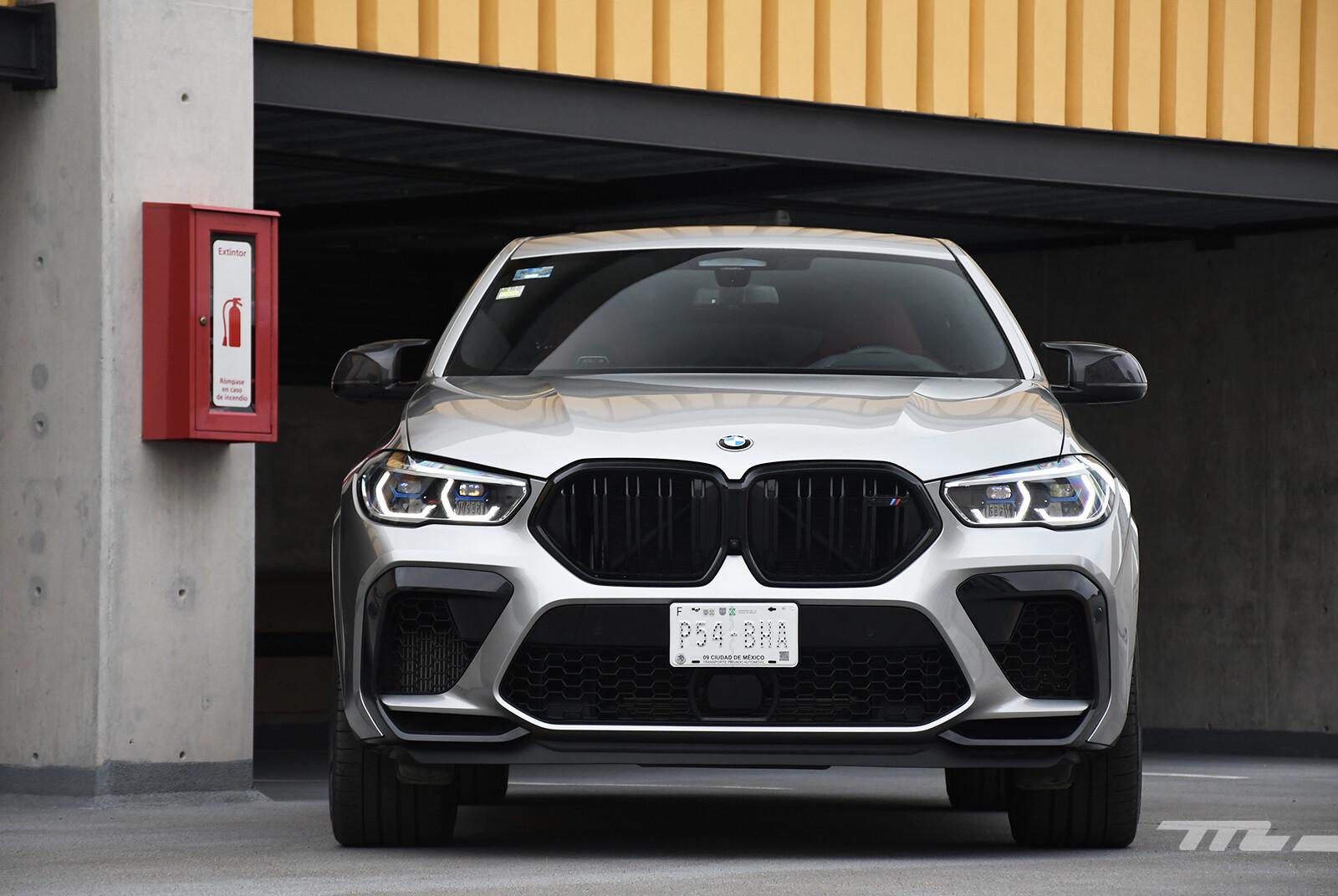 BMW X6 M Competition 2021 (prueba)