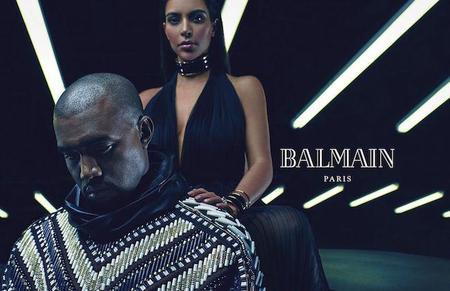 Uh Huh Honey Kim Kardashian And Kanye West Are The New Faces Of Balmain Body Image 1419259650