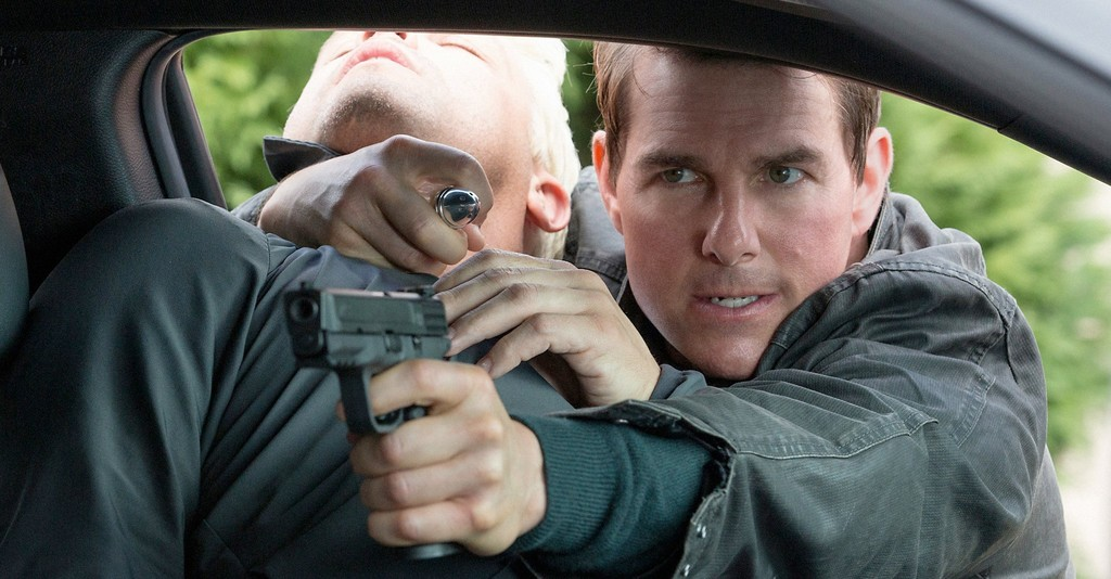 Tom Cruise Jack Reacher Nunca Vuelvas Atras