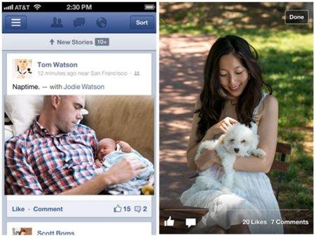 Facebook deja de ser la tortuga para los usuarios móviles: actualizaciones en iOS y Android