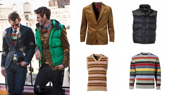 Preppy Style Gant Lookbook Otoño/Invierno 2012 2013