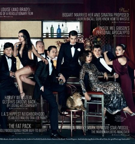 Hollywood de Vanity Fair portada