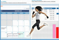 Training log: agenda online para corredores