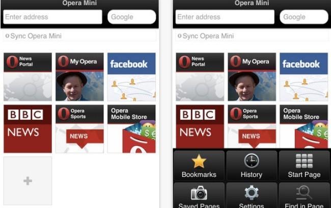 Opera en iOS