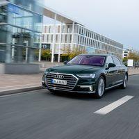 El Audi A8 TFSIe quattro es el primer A8 híbrido, desarrolla 449 CV y ya está disponible desde 111.050 euros