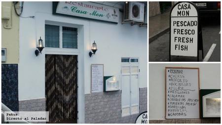 Restaurante Casa Mon, estupendo pescado en la isla de Tenerife