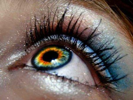 Ojos-pestañas