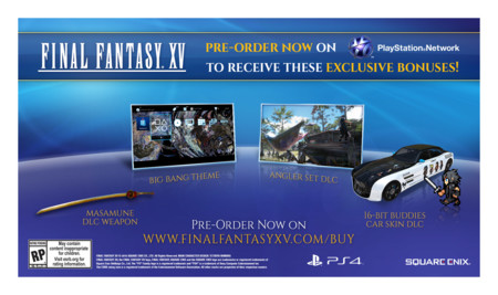 Final Fantasy Xv Reserva Ps4