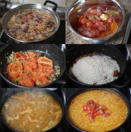 hacer arroz caldoso de carabineros
