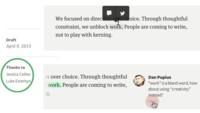 Medium continúa evolucionando e incorpora una herramienta colaborativa interna