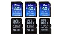 Toshiba presenta las tarjetas SDHC más rápidas del mundo